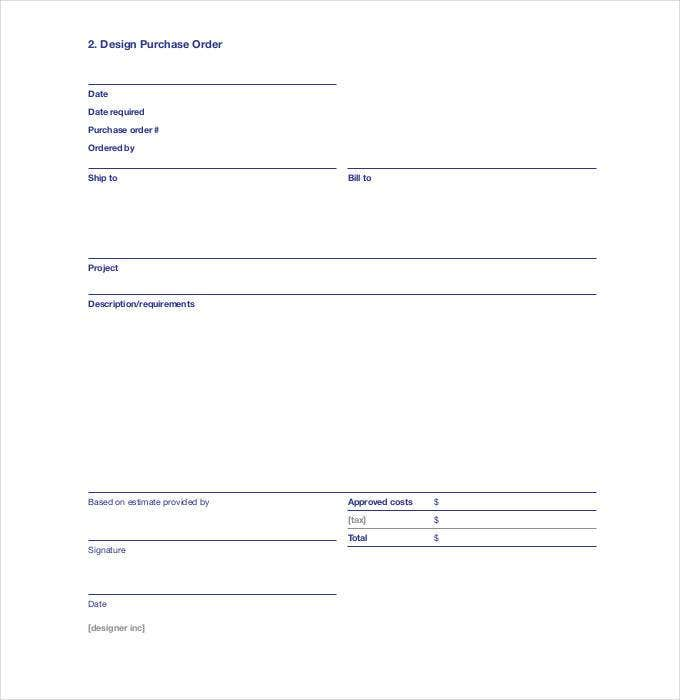 design purchase order1