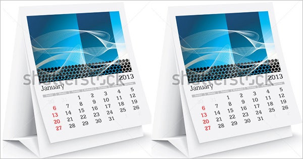 Desk Calendar Template – 30+ Free PSD, AI, Indesign, EPS Formats ...
