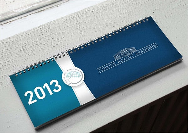 New Desk Calendar Layout Design