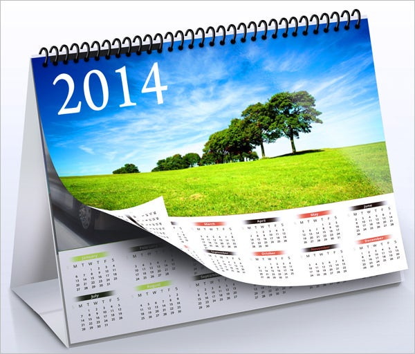Corporate Calendar Template : Desk calendar template free psd ai indesign eps