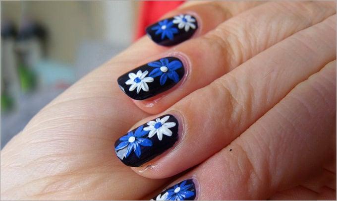 different nail polish design