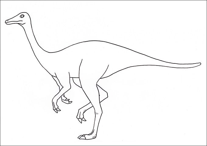 25 Dinosaur Coloring Pages