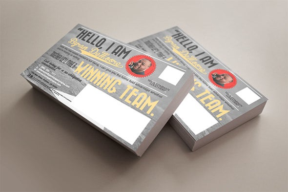 direct marketing postcard flyer template