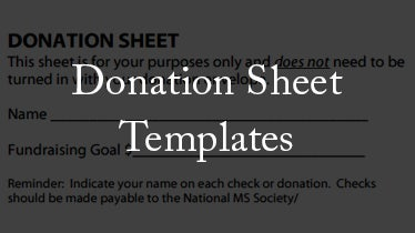 donation sheet template featured