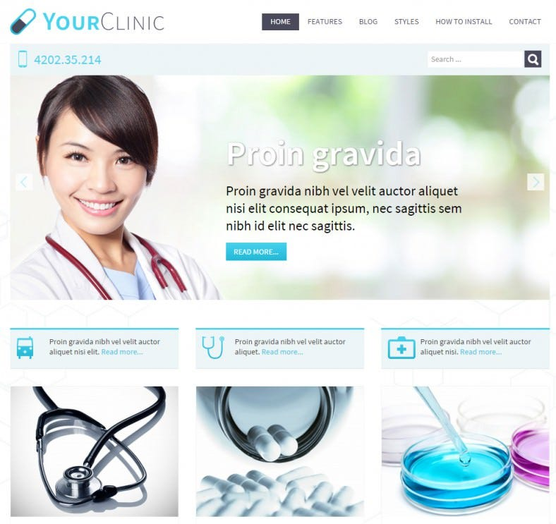 download doctor joomla template 39 788x743