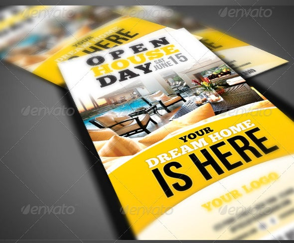 Dream Home Open House Flyer Template  Open House Flyers