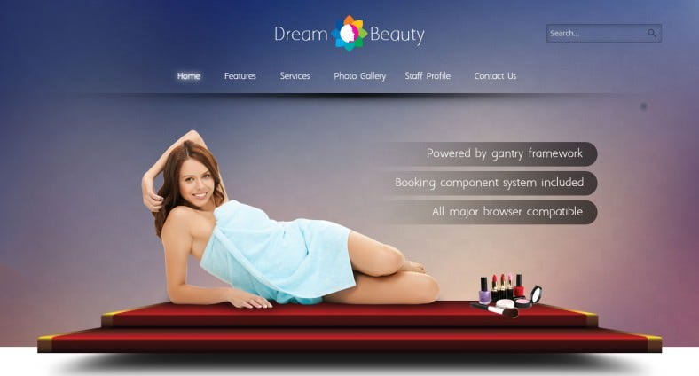 dream makeup artists responsive joomla template 53 788x424