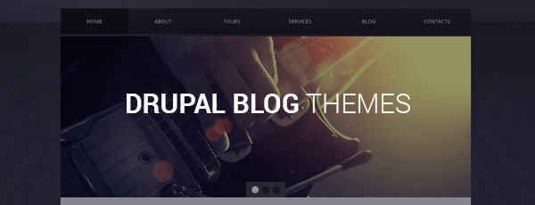 drupal blog themes
