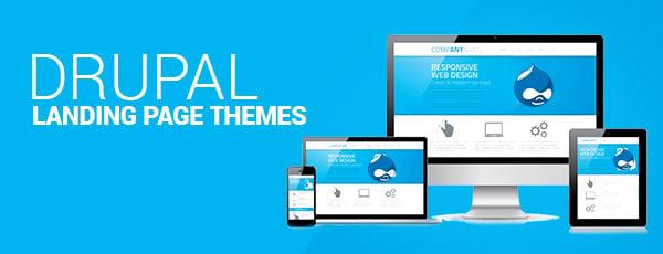 Drupal Landing Page Themes