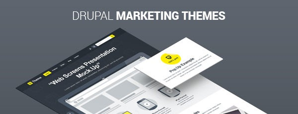 Drupal Marketing Themes