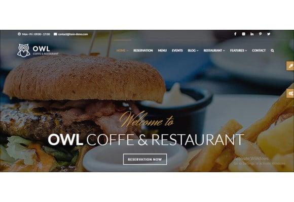 drupal restaurant theme1