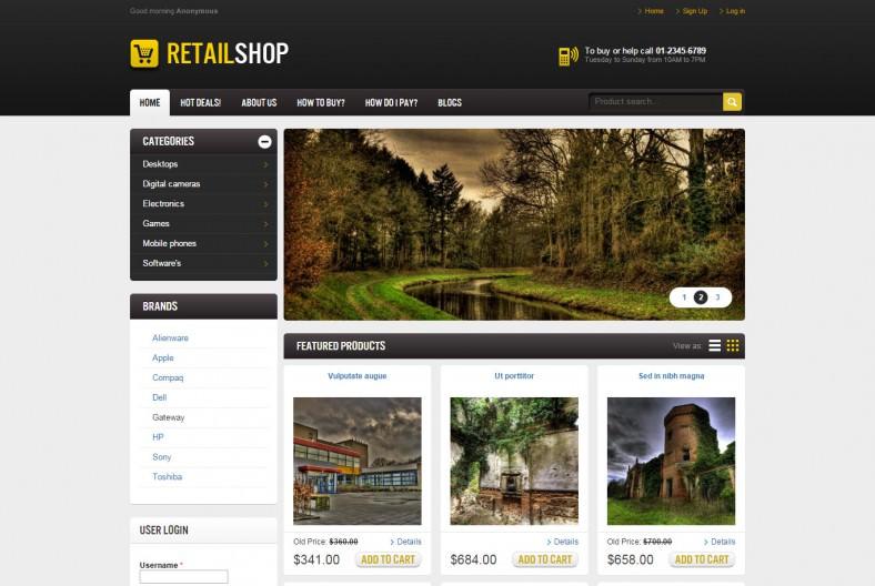 RetailShop Drupal Theme