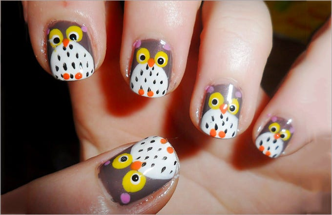 Easy Cute Fall Nail Design - 27+ Fall Nail Art Designs Free & Premium Templates