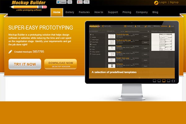 easy prototyping tool