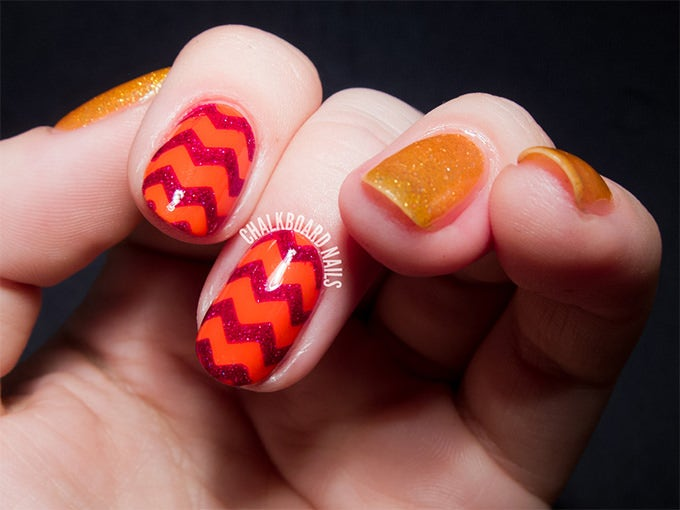 easy summer nail design