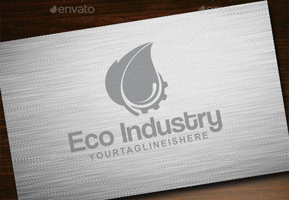 eco construction company logo