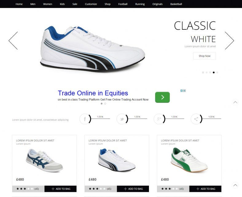 ecommerce website template free download 788x643
