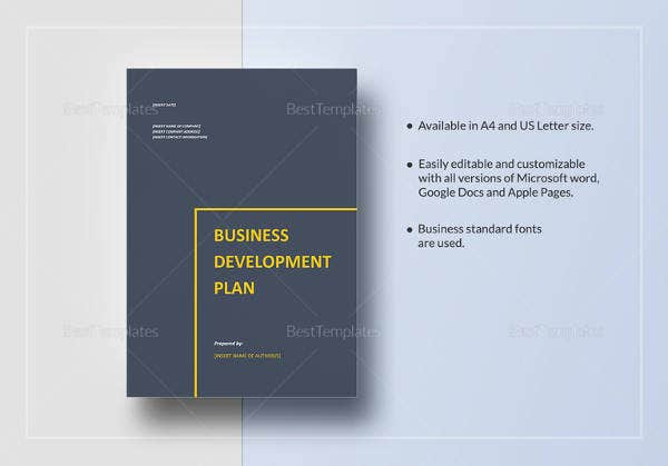 editable-business-development-plan-template