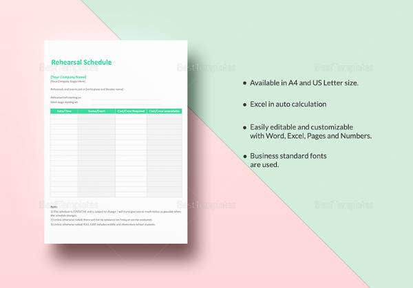 editable-rehearsal-schedule-template
