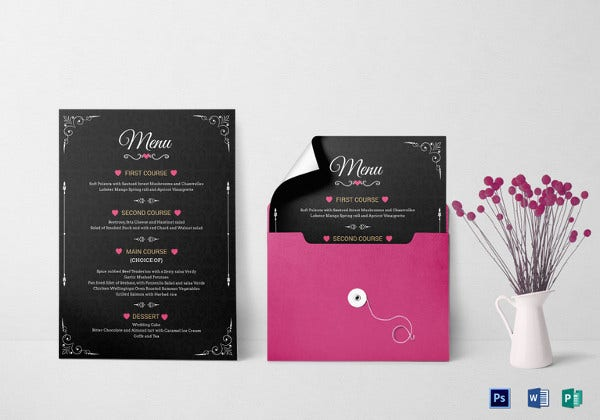 editable-wedding-menu-invitation-template