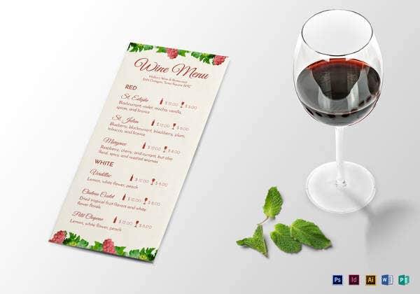 editable-wine-menu-template