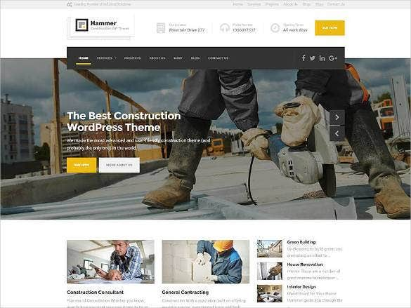 electrical engineering website template1