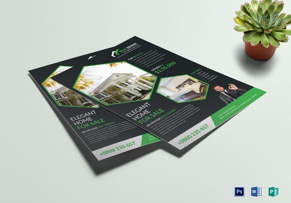 elegant-real-estate-flyer-template