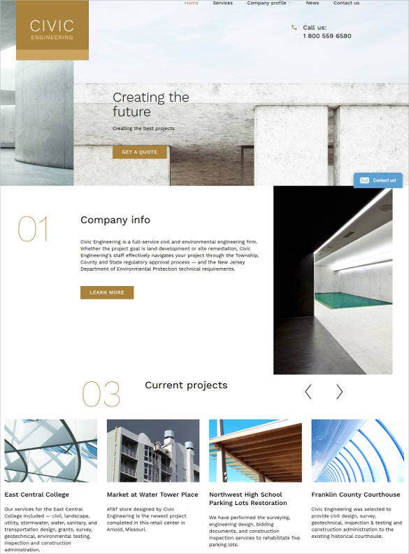 engineering services website template1