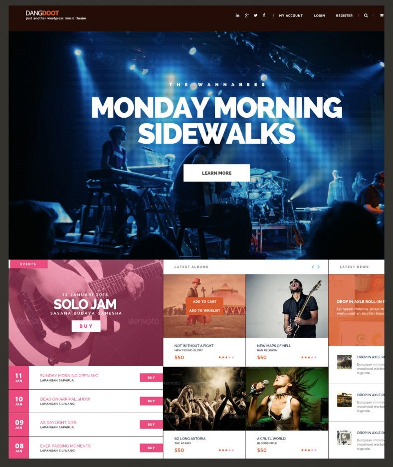 10 Best Event Management WordPress Templates & Themes | Free ...