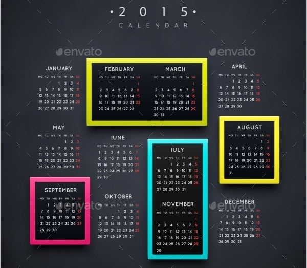 Event Calendar Templates - Free Download | Free & Premium Templates