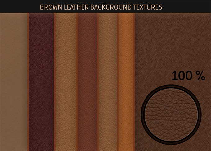 free brown leather background textures
