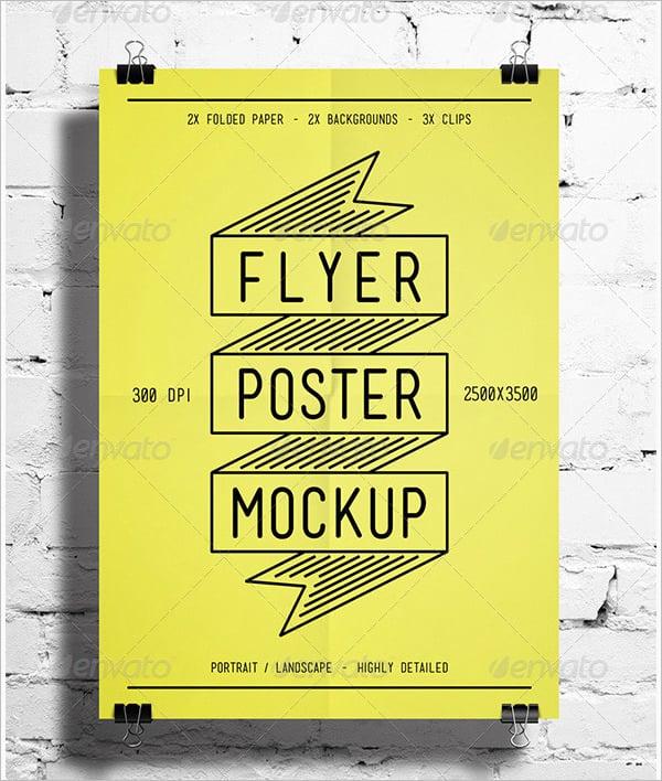 facinating psd poster mockups