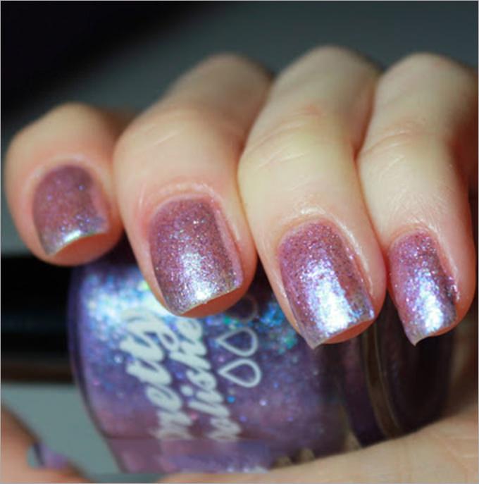 fall nail stamping