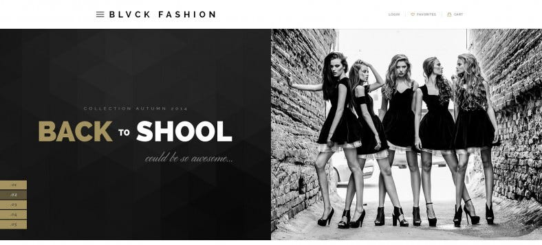 Fashion Multipurpose eCommerce HTML5