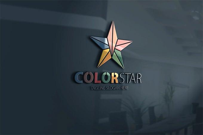 fentastic colorstar star logo