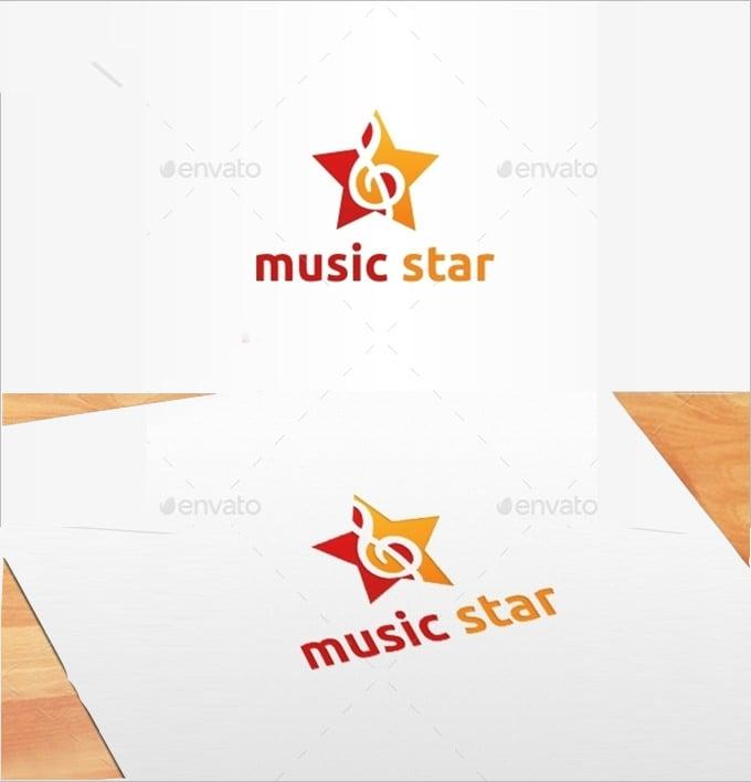fentastic musicstar star logo