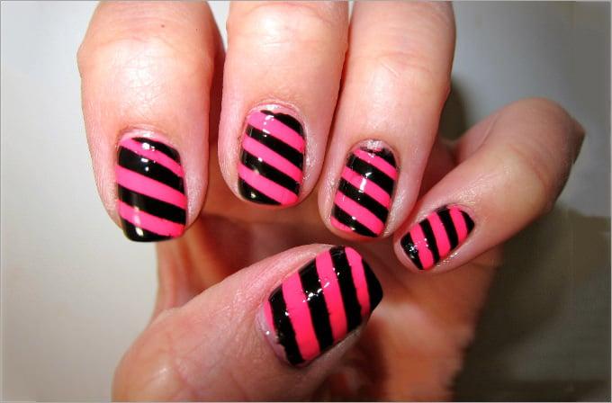finger paints nail polish