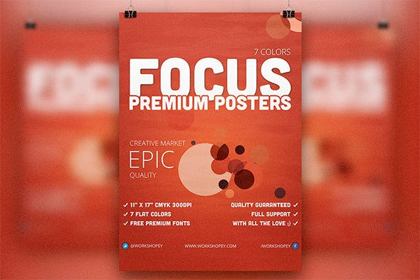 focus campaign flyer template