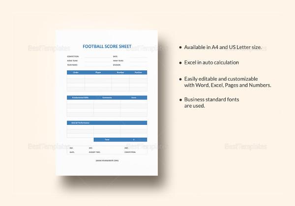 football score sheet template1