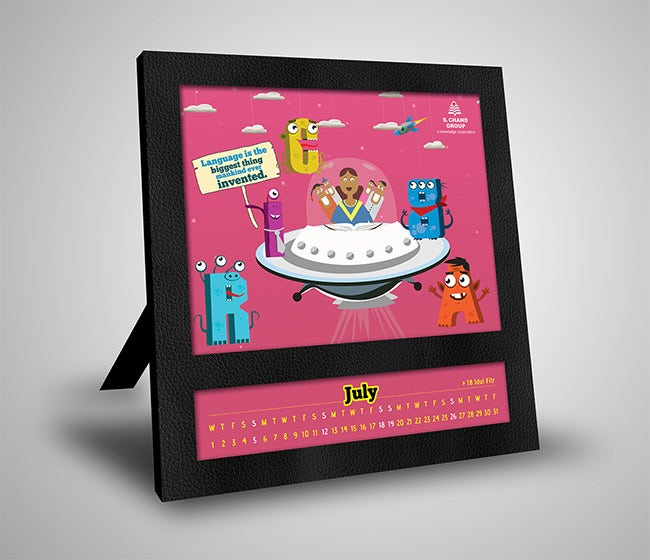 free calendar template for kids