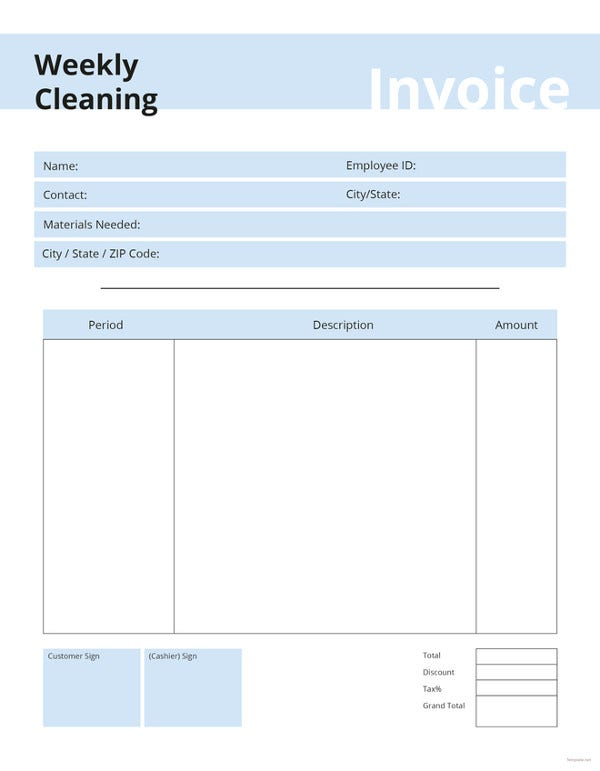 free-commercial-cleaning-invoice-template