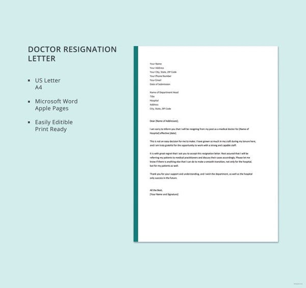 doctor letter template 16 free word excel pdf format download