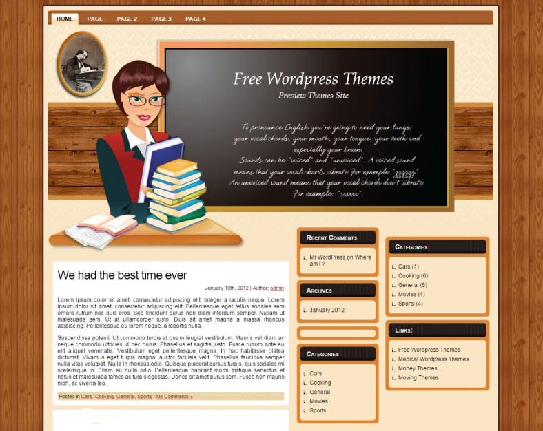 free english teacher wp wordpress template 788x626