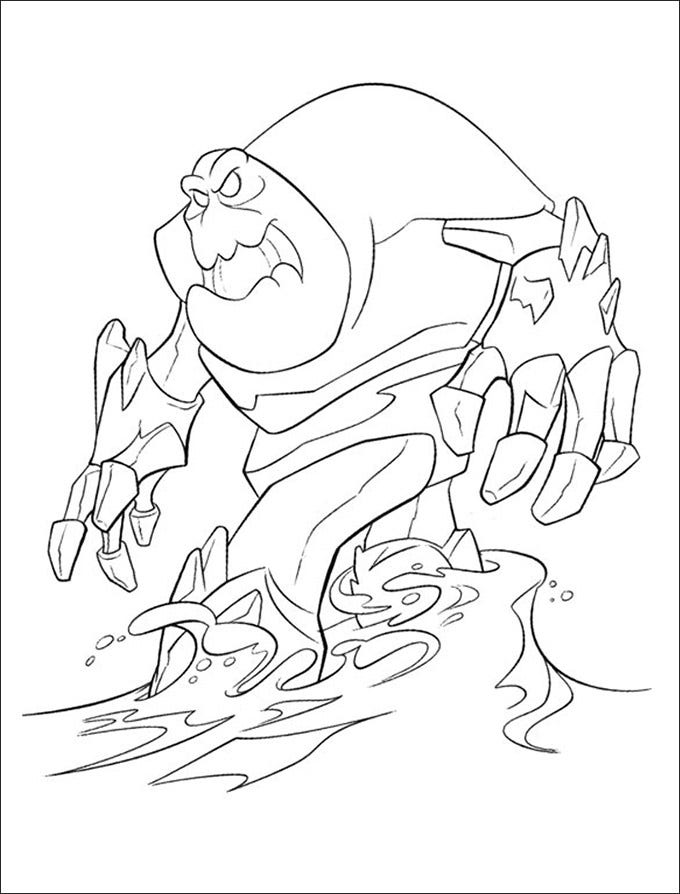 Free Frozen Printables Coloring Page Download