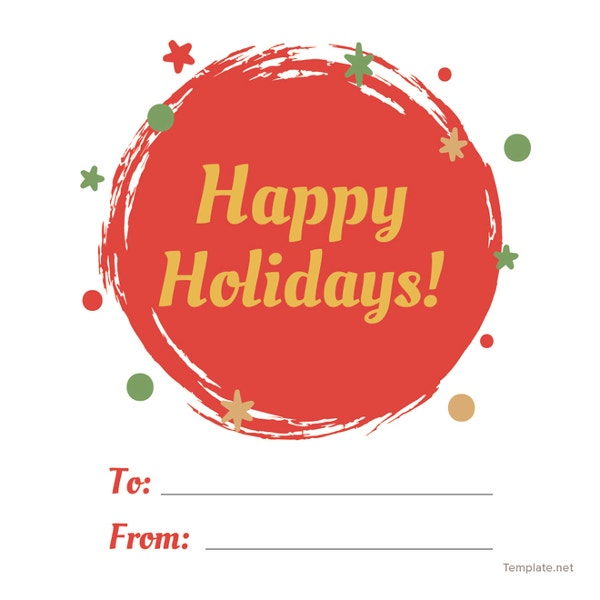 free-holiday-label-template