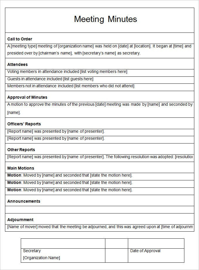 call schedule template