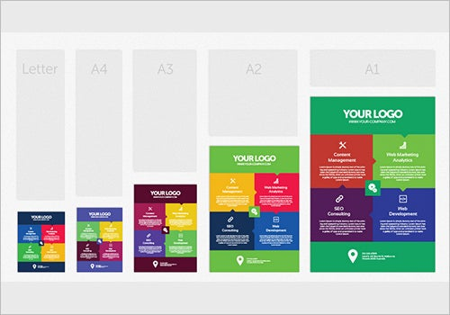 free professional conference posters template