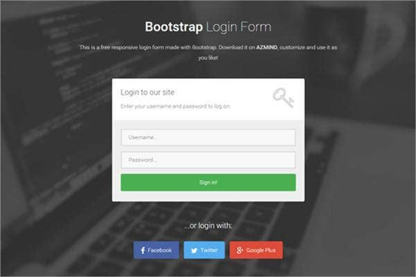 7+ free php login form templates to download | free & premium, Powerpoint templates
