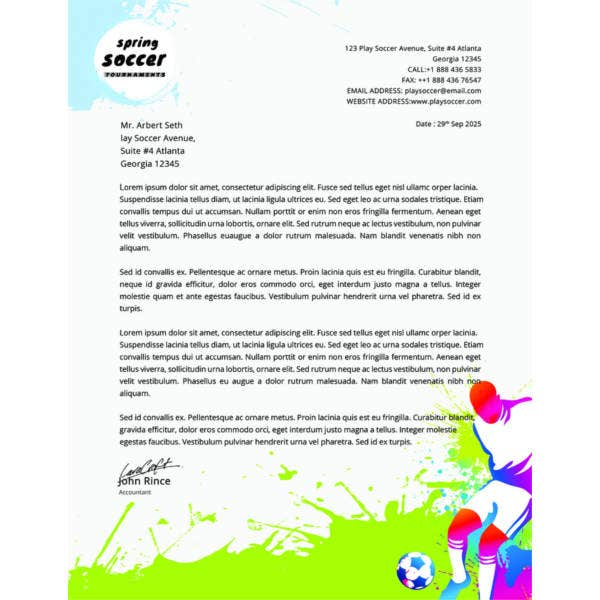 free-soccer-letterhead-templatefree-download