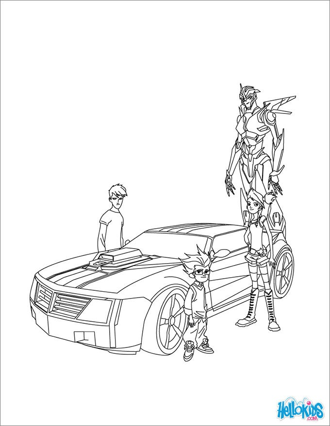 free transformer coloring pages